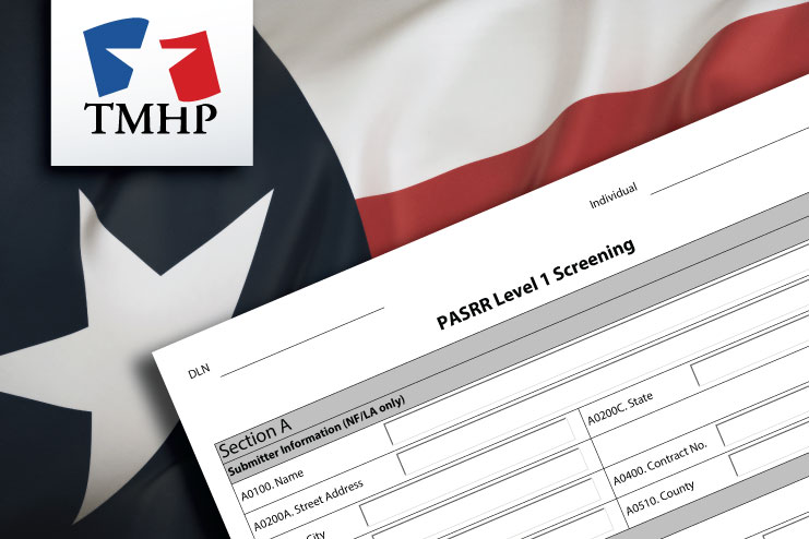 TMHP to create PASRR PL1 forms for residents