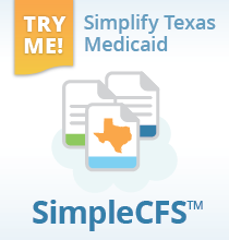 SimpleCFS: Automate Texas Medicaid MESAV, LTCMI, 3618/3619 and PASRR
