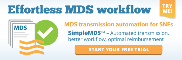 SimpleConnect:<br /> Simplify MDS + PBJ transmission to CMS, file tracking and CASPER reports