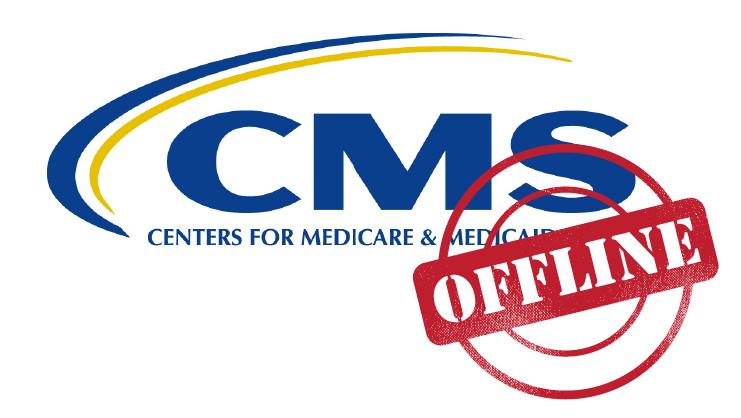 CMS offline, Mar. 16-21, 2016