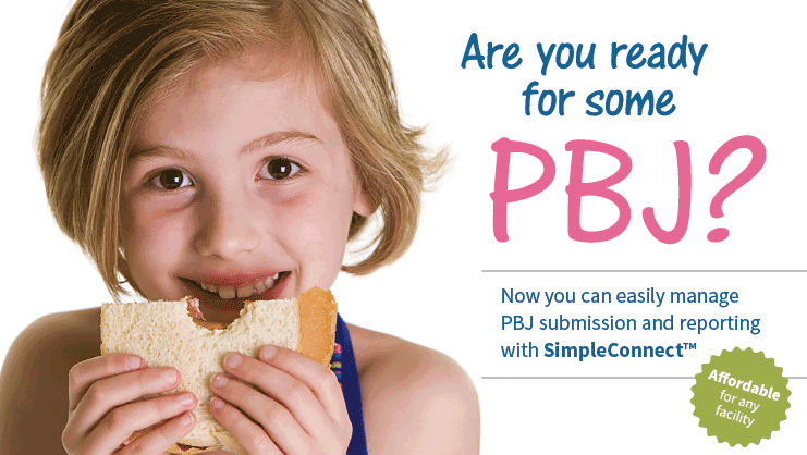 Easily submit PBJ files to CMS and manage reporting