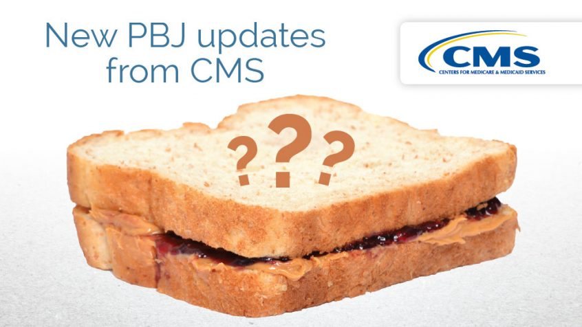 New PBJ updates from CMS