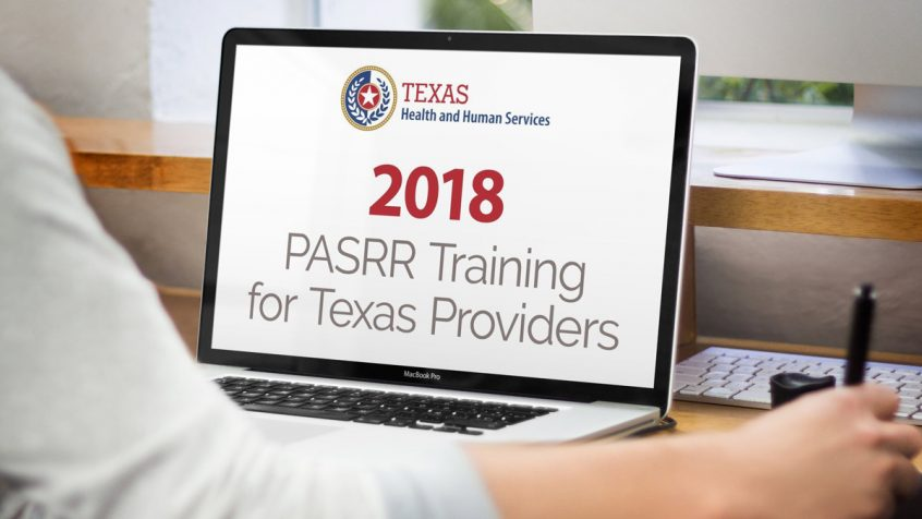 Texas HHS PASRR training webinars for 2018