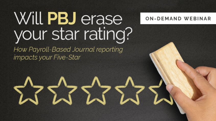 Webinar: Will PBJ erase your star rating?