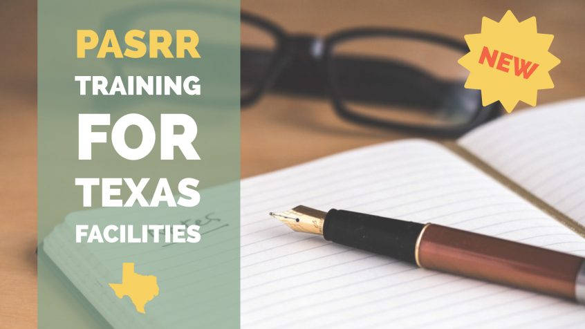 pasrr training for texas facilities
