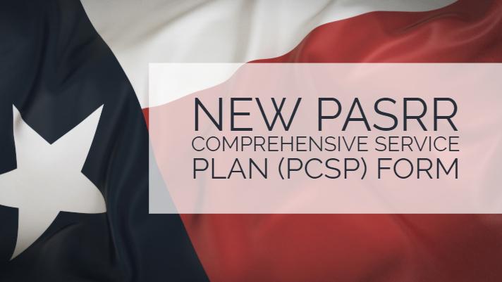 New PCSP form SimpleLTC