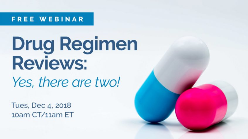 Drug Regimen Reviews Webinar with Mary Madison Briggs Healthcare SimpleLTC