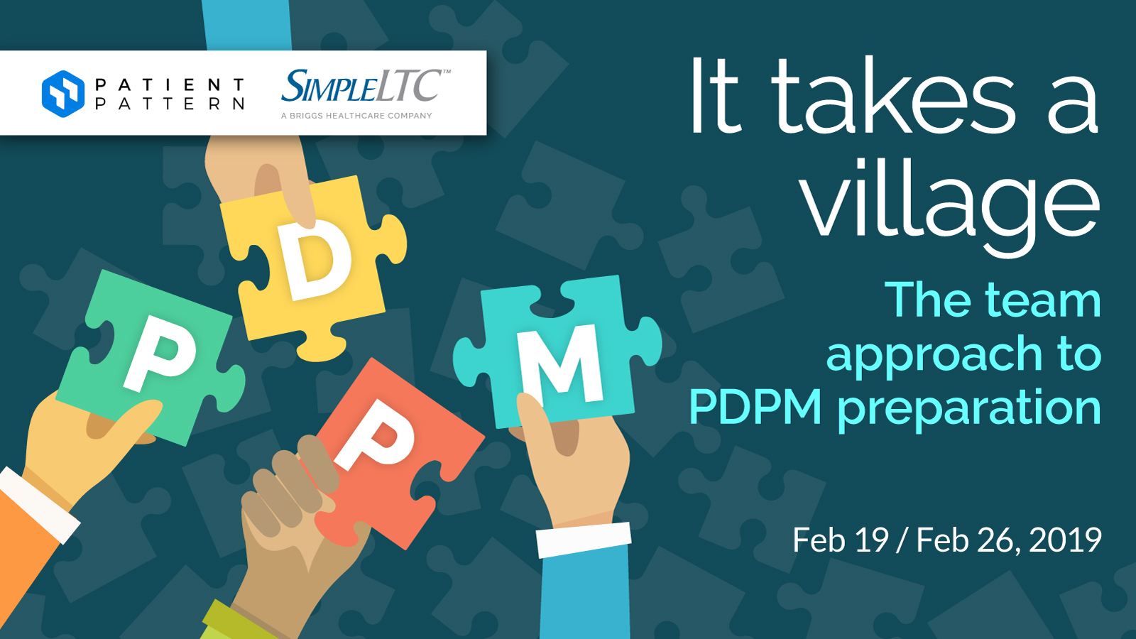 It takes a village: The team approach to PDPM