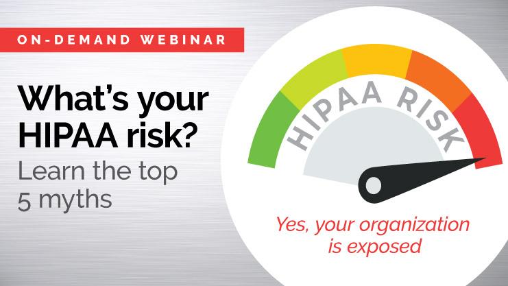 HIPAA risk